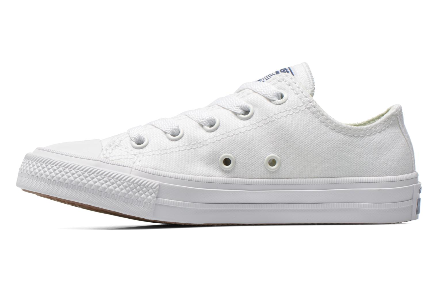 Chuck Taylor All Star II Ox White White Navy