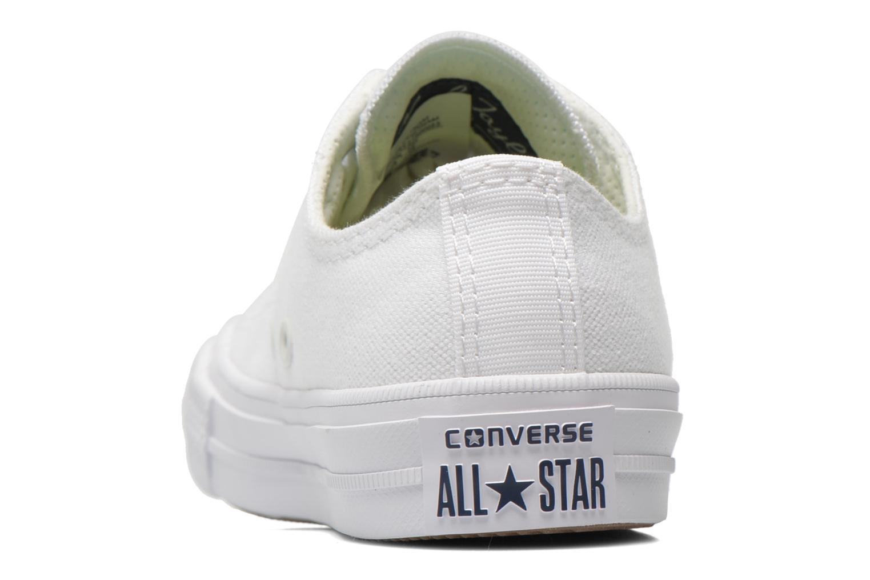 Deportivas Converse Chuck Taylor All Star II Ox Blanco vista lateral derecha