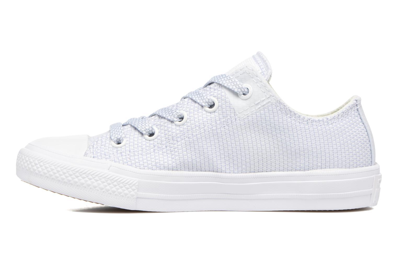 Sneaker Converse Chuck Taylor All Star II Ox blau ansicht von vorne