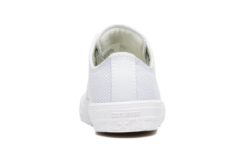 Sneaker Converse Chuck Taylor All Star II Ox blau ansicht von rechts