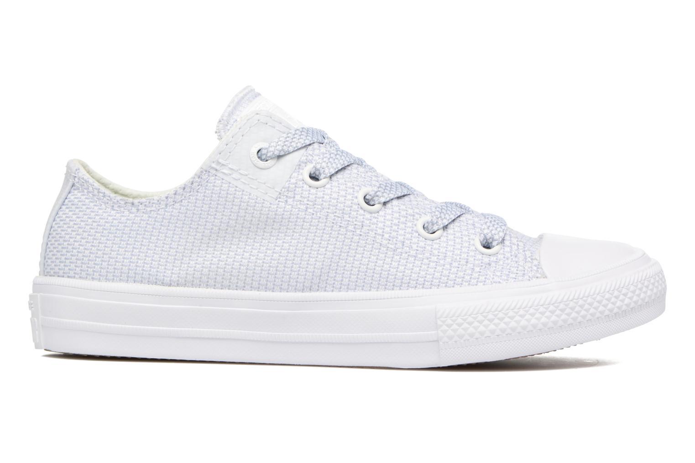Sneaker Converse Chuck Taylor All Star II Ox blau ansicht von hinten