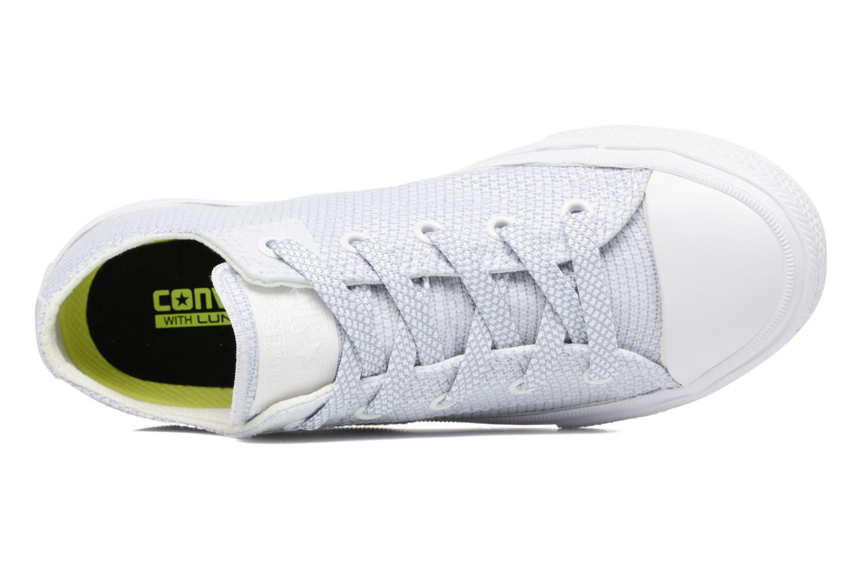 Sneaker Converse Chuck Taylor All Star II Ox blau ansicht von links
