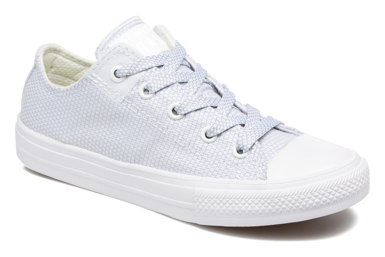Chuck Taylor All Star II Ox White/Blue Granite/White