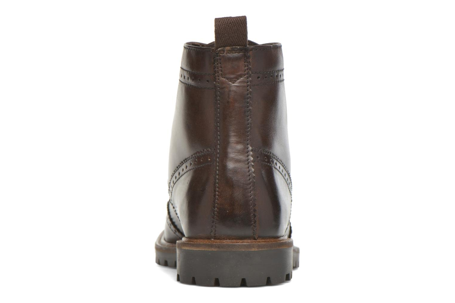 Ankle boots Base London Troop Brown view from the right
