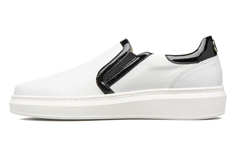 GIGI SLIP ON SNEAKER WHITE/ BLACK