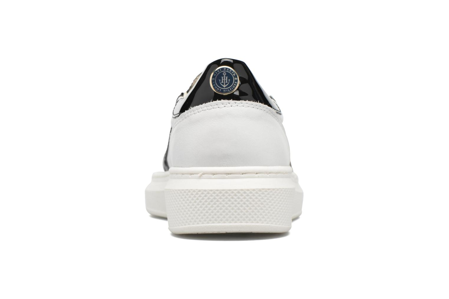 GIGI SLIP ON SNEAKER WHITE/ BLACK