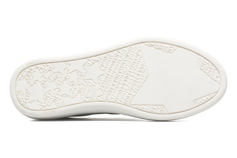 Sneaker Tommy Hilfiger GIGI SLIP ON SNEAKER weiß ansicht von oben