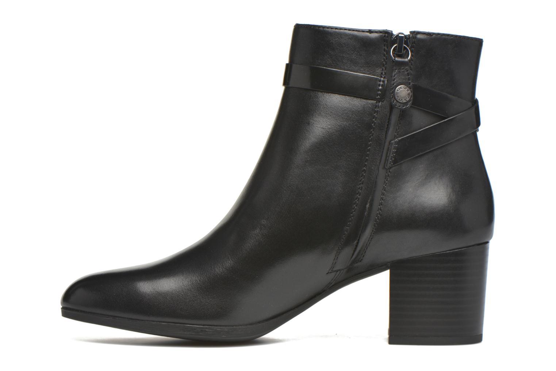 Stiefeletten & Boots Geox D PETALUS C D642ZC schwarz ansicht von vorne