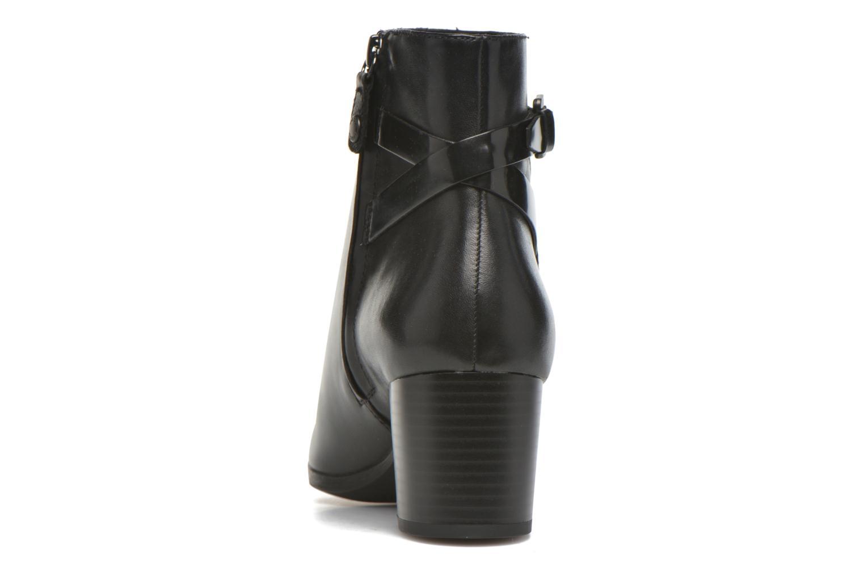 Stiefeletten & Boots Geox D PETALUS C D642ZC schwarz ansicht von rechts