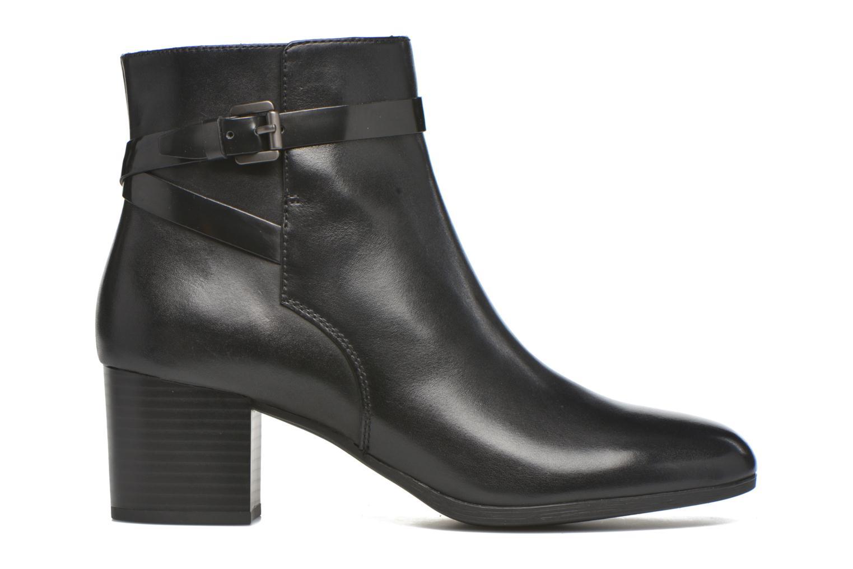 Stiefeletten & Boots Geox D PETALUS C D642ZC schwarz ansicht von hinten
