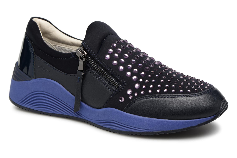 Grandes descuentos últimos zapatos Geox D OMAYA C D640SC (Azul) - Deportivas Descuento