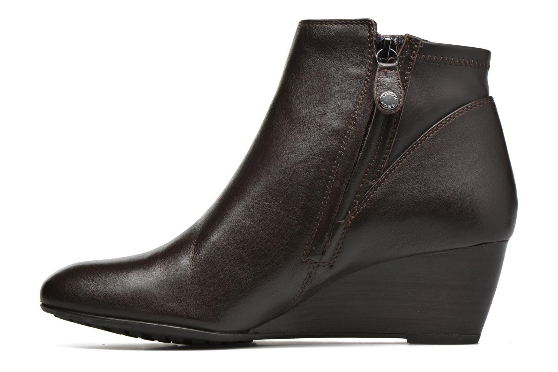 Stiefeletten & Boots Geox D VENERE A D64P8A braun ansicht von vorne