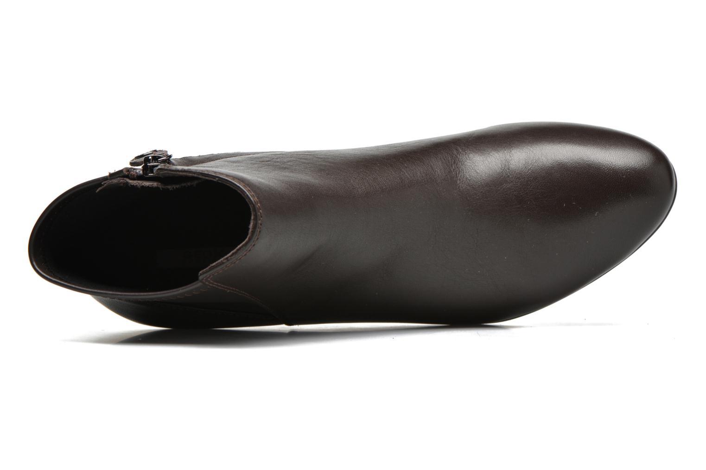 Stiefeletten & Boots Geox D VENERE A D64P8A braun ansicht von links