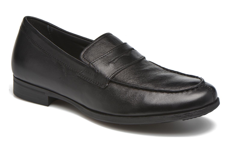 Loafers Geox U BESMINGTON G U641XG Black detailed view/ Pair view