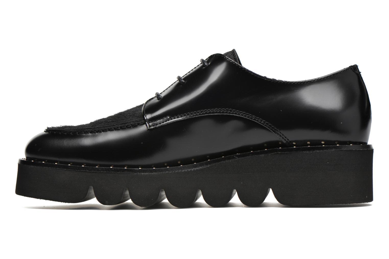 Chaussures à lacets Anaki Virginia Noir vue face