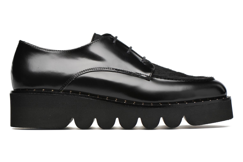 Chaussures à lacets Anaki Virginia Noir vue derrière