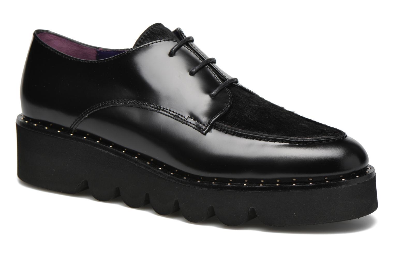 Chaussures à lacets Anaki Virginia Noir vue détail/paire