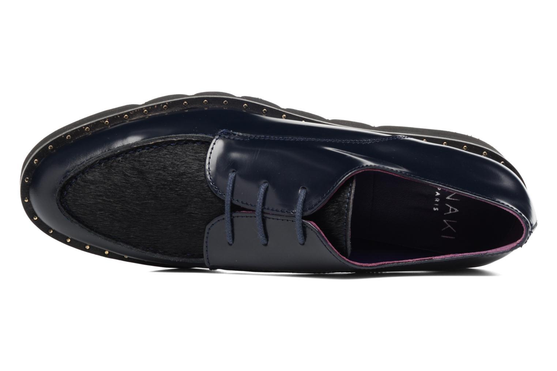 Scarpe con lacci Anaki Virginia Azzurro immagine sinistra