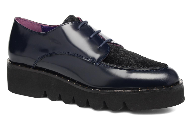Chaussures à lacets Anaki Virginia Bleu vue détail/paire
