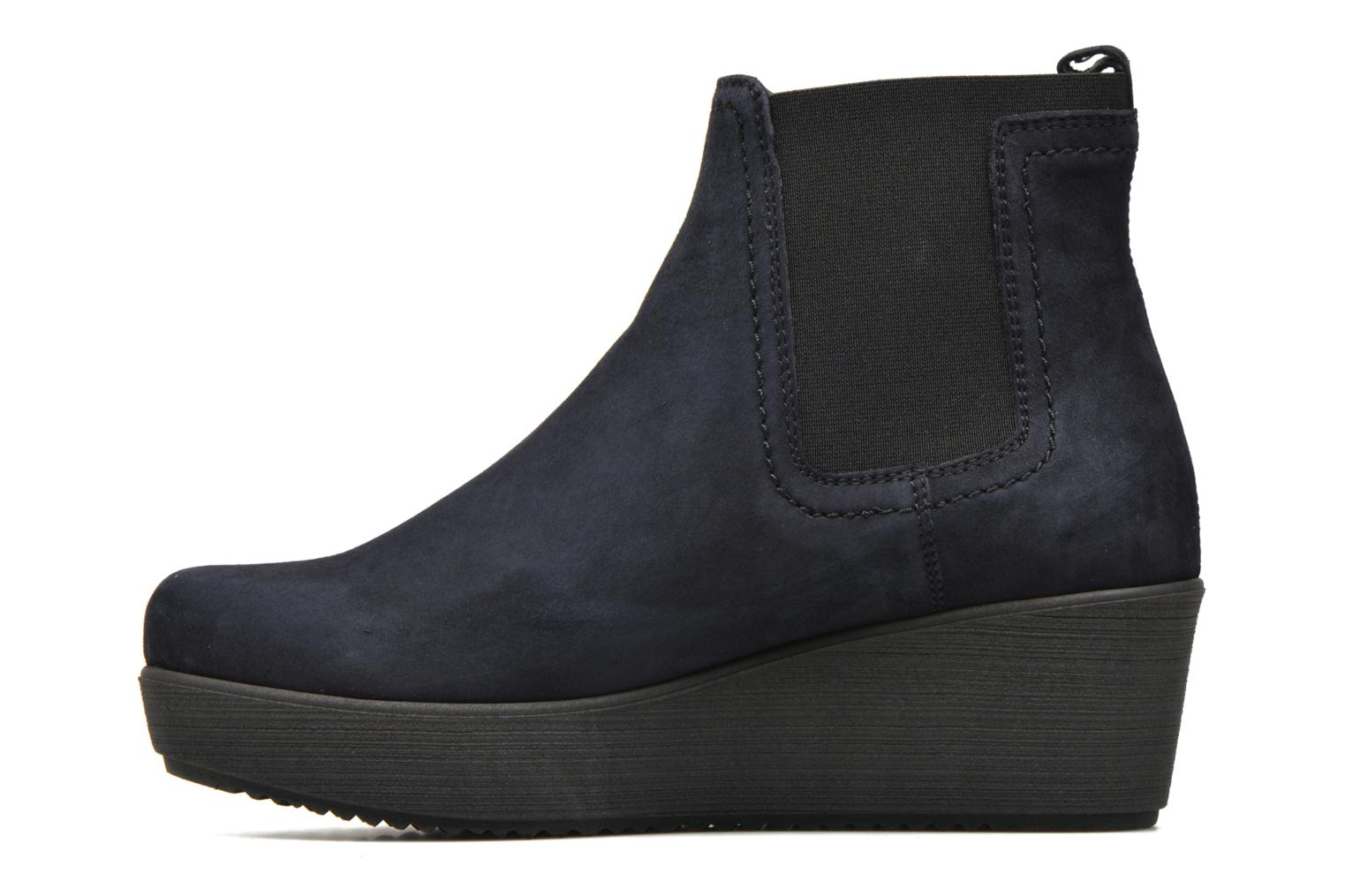 Ankle boots Unisa Fara Blue front view