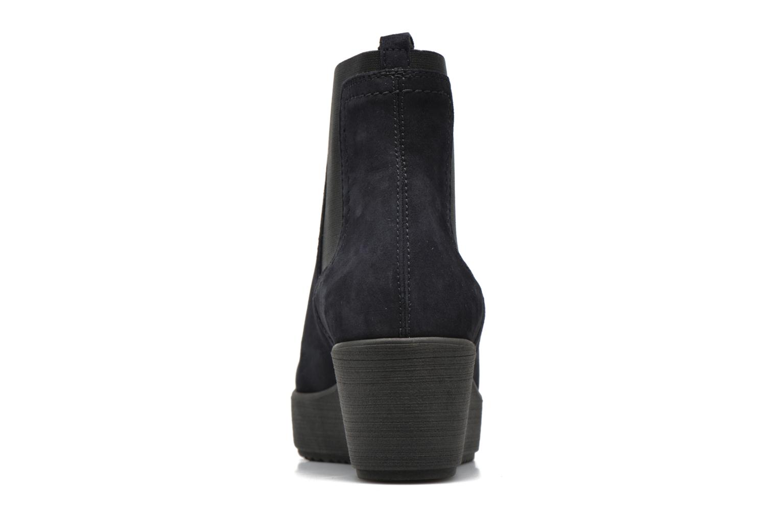 Ankle boots Unisa Fara Blue view from the right