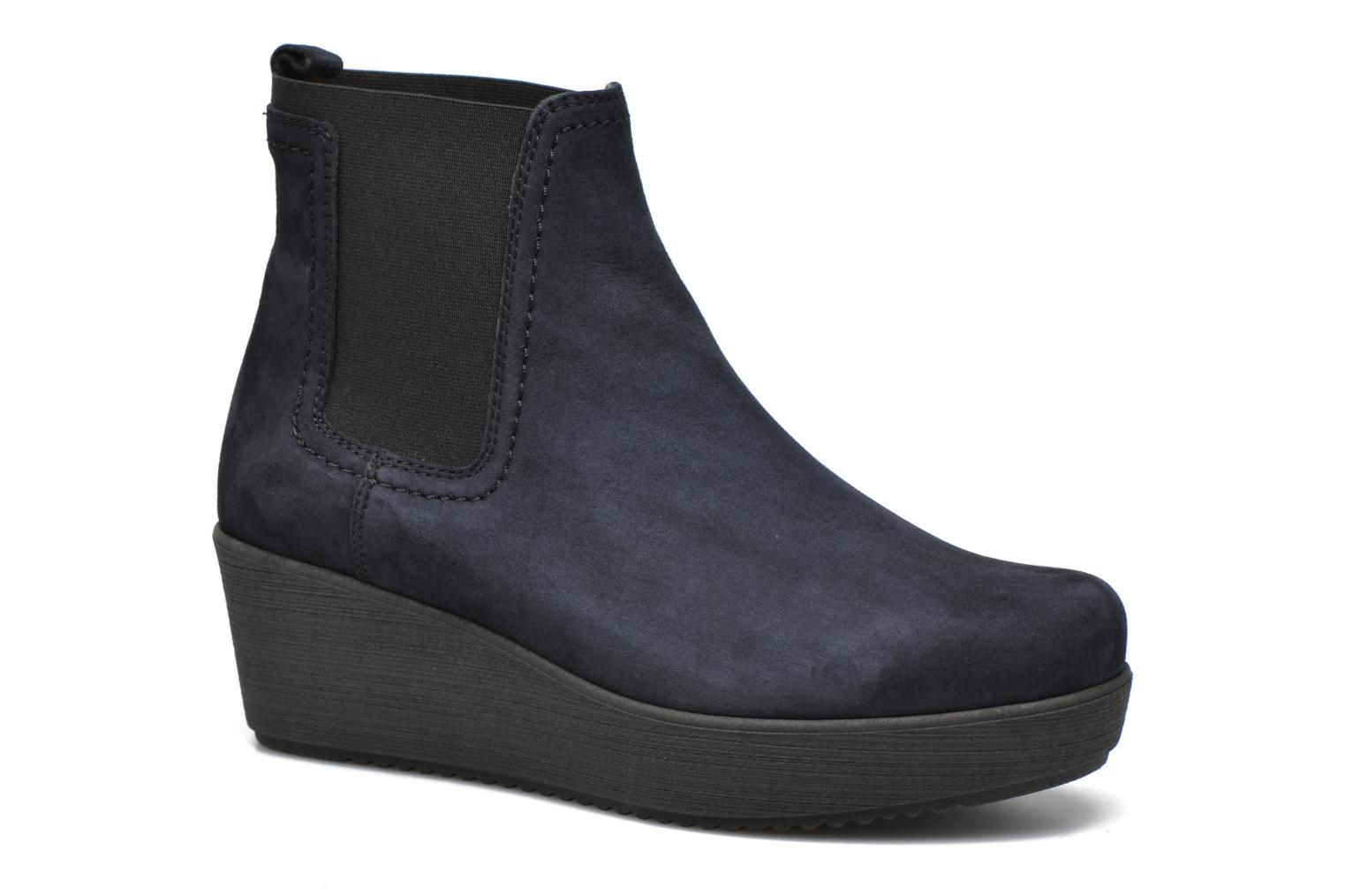 Ankle boots Unisa Fara Blue detailed view/ Pair view