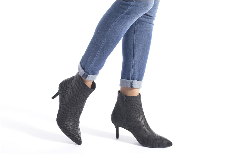 Bottines et boots Unisa Kirova Noir vue bas / vue portée sac