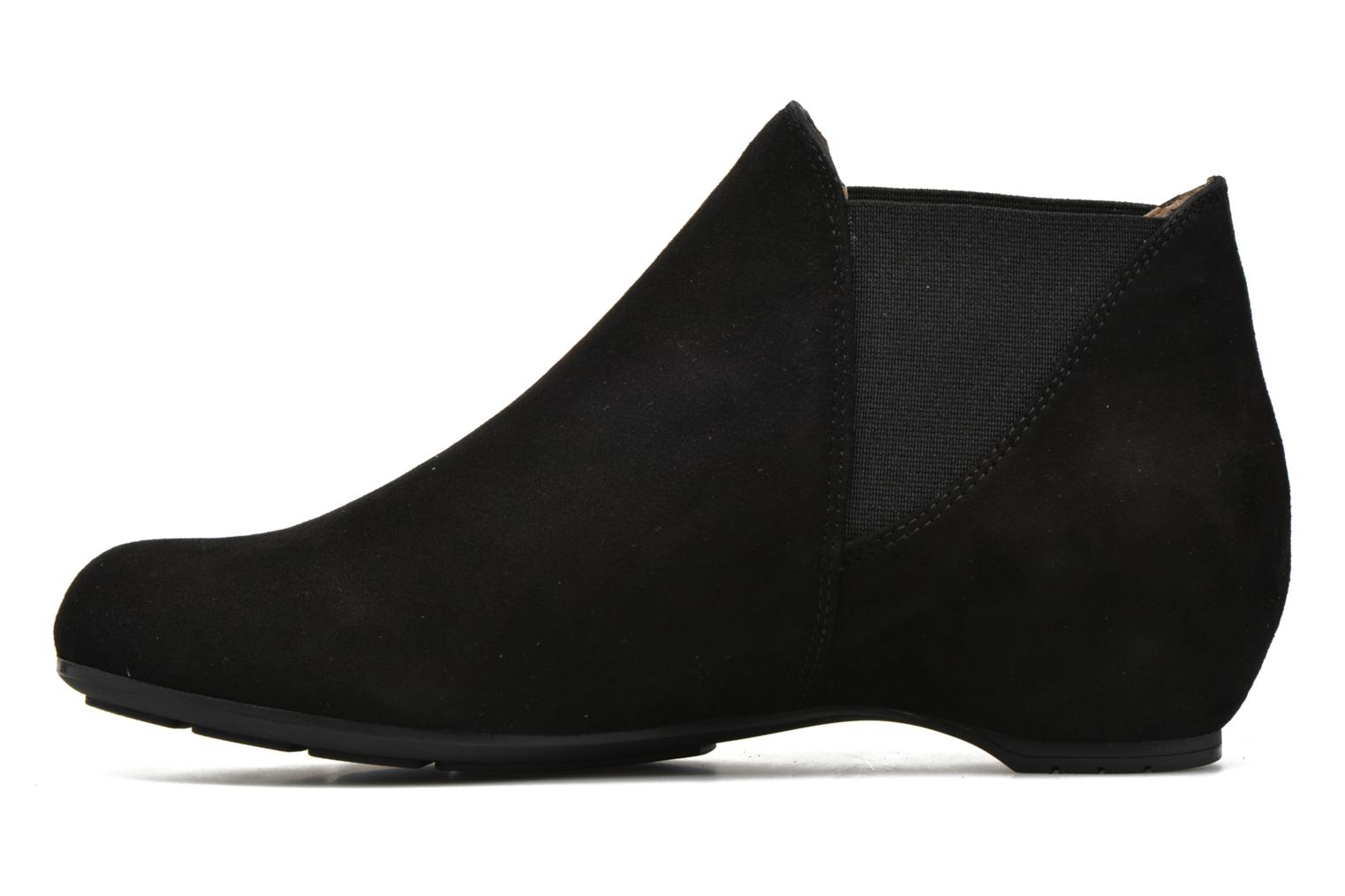 Ankle boots Unisa Afra Black front view