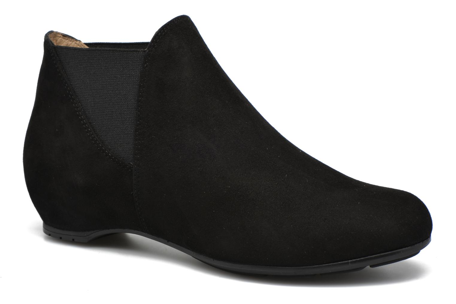 Ankle boots Unisa Afra Black detailed view/ Pair view