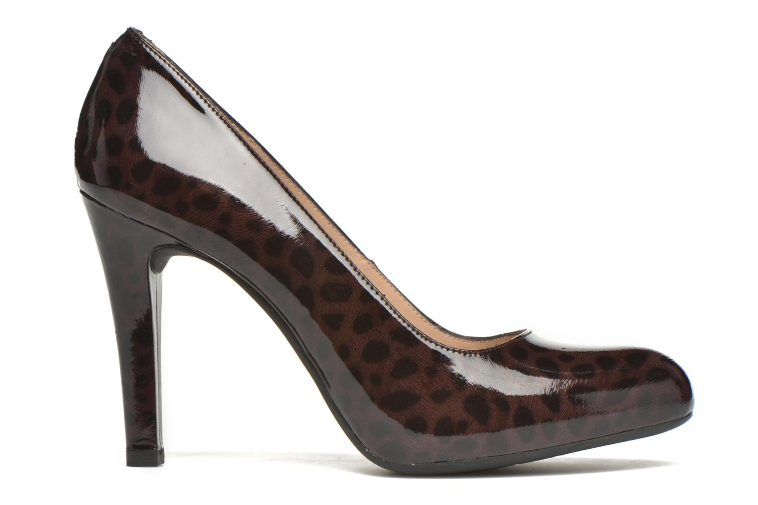 High heels Unisa Patty Multicolor back view