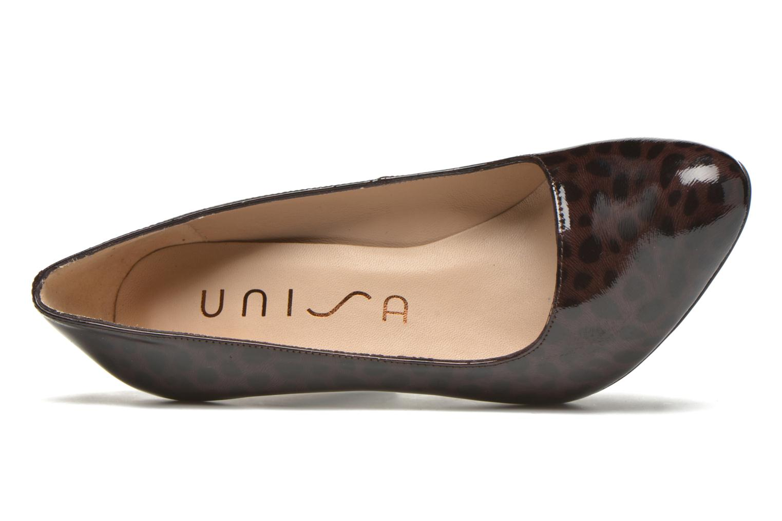 High heels Unisa Patty Multicolor view from the left