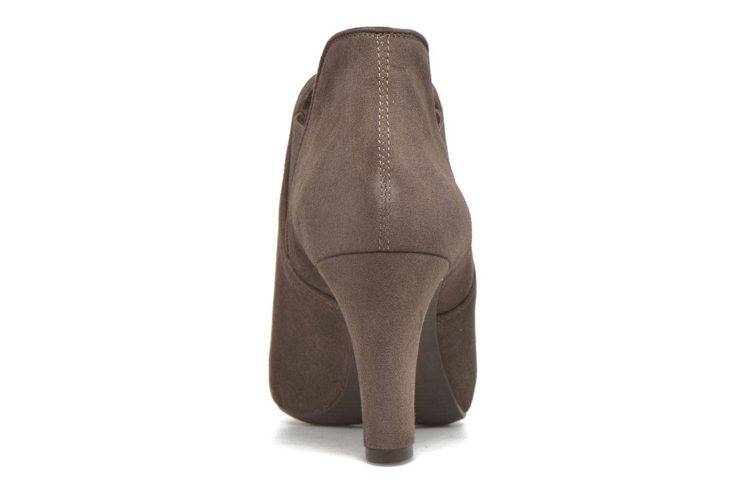 Ankle boots Unisa Nepu Grey view from the right