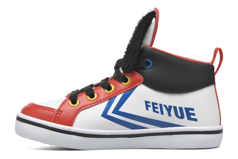 Sneaker Feiyue Delta Mid Peanuts weiß ansicht von vorne