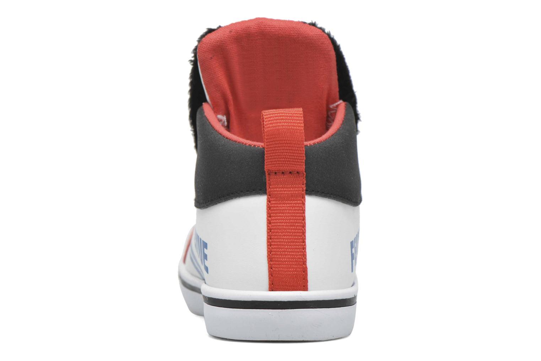 Sneaker Feiyue Delta Mid Peanuts weiß ansicht von rechts