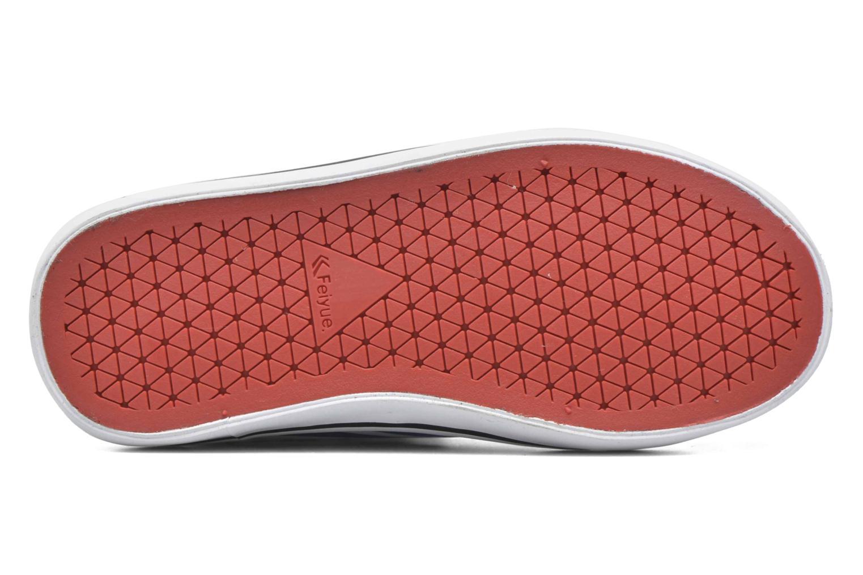 Sneaker Feiyue Delta Mid Peanuts weiß ansicht von oben