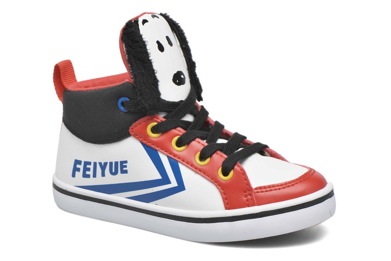 Sneaker Feiyue Delta Mid Peanuts weiß detaillierte ansicht/modell