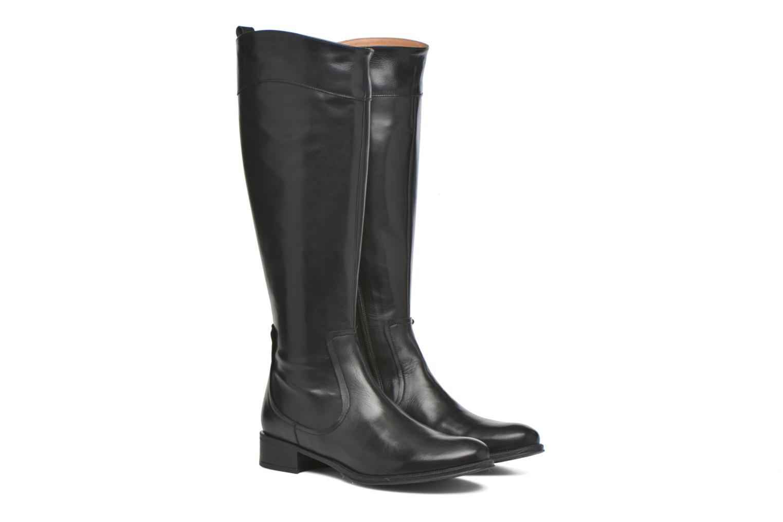 Stiefel Made by SARENZA Boots Camp #15 schwarz ansicht von hinten