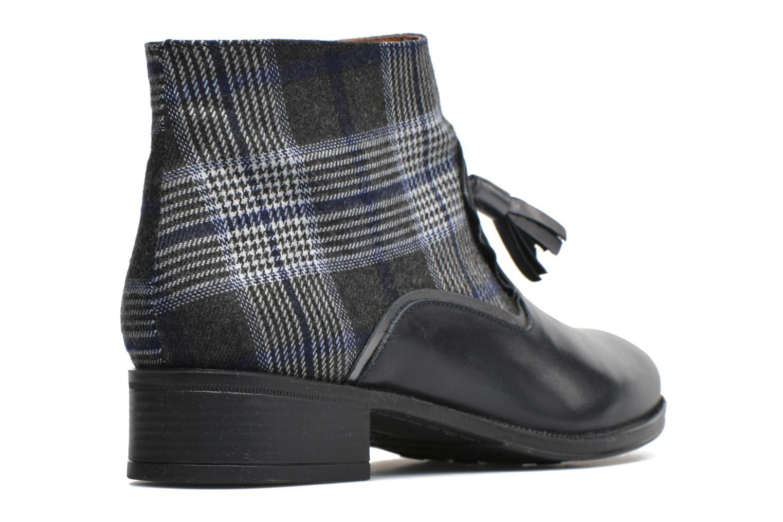 Bottines et boots Made by SARENZA West Mister #10 Bleu vue face