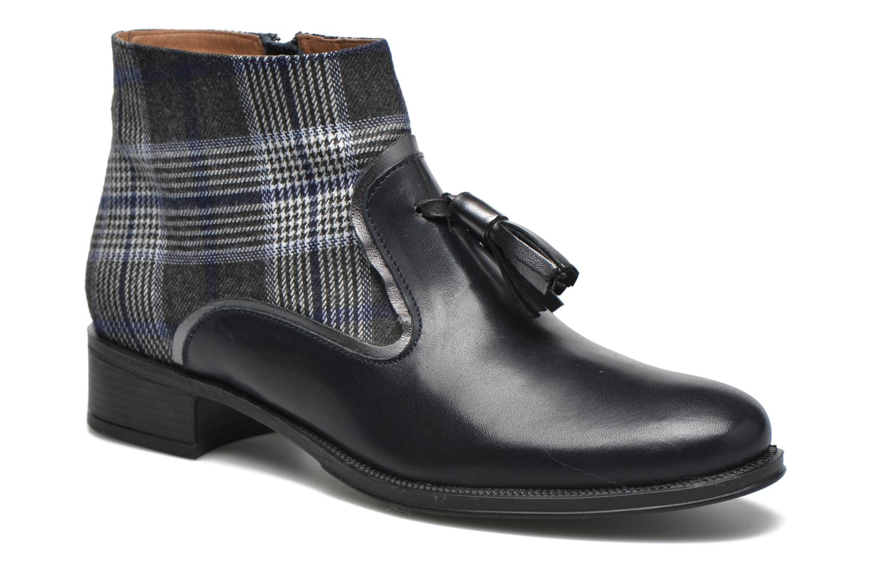 Bottines et boots Made by SARENZA West Mister #10 Bleu vue droite