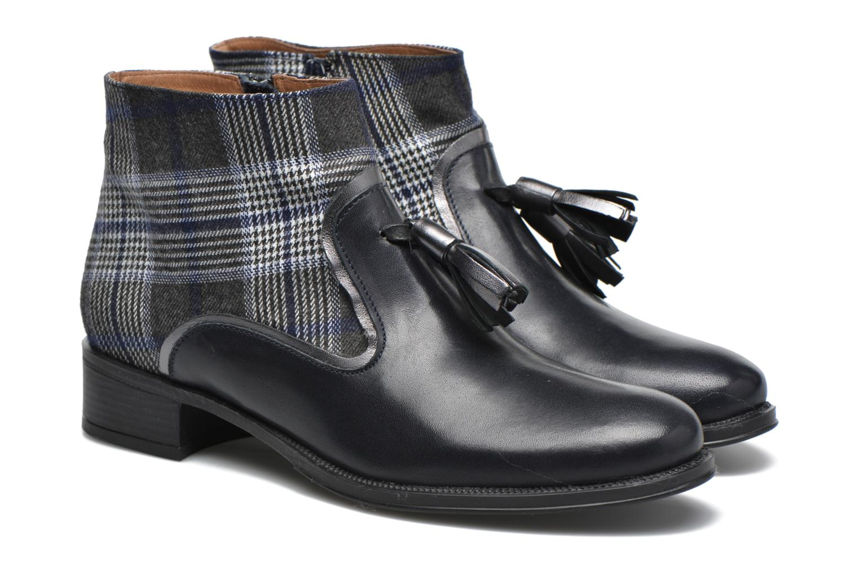 Bottines et boots Made by SARENZA West Mister #10 Bleu vue derrière