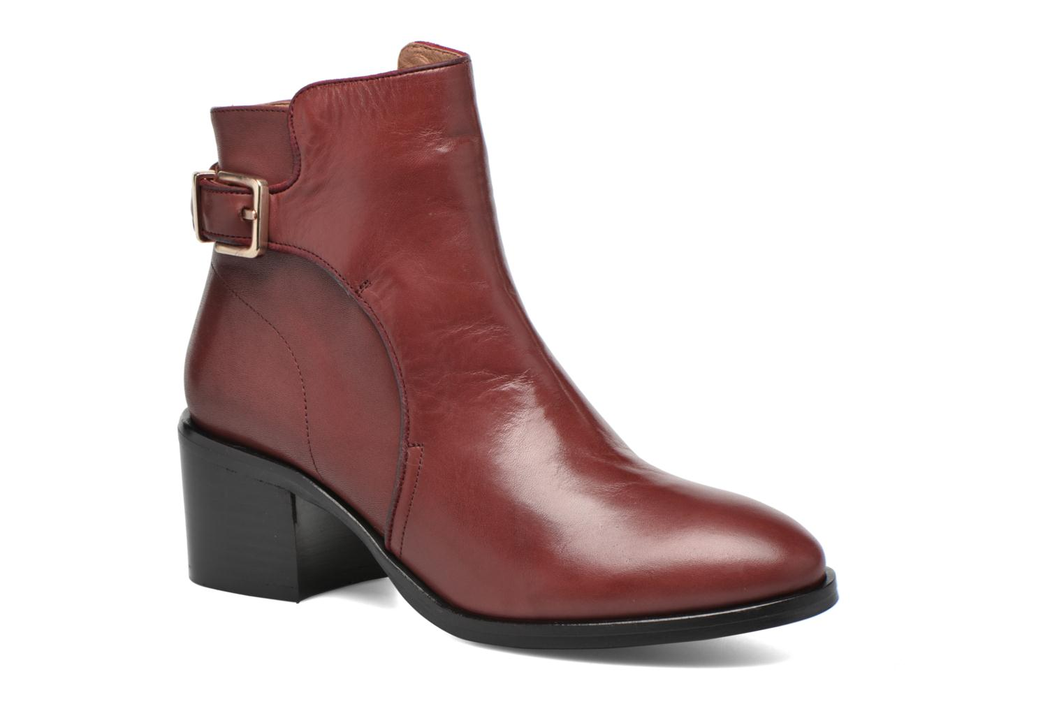 Bottines et boots Made by SARENZA See Ya Topanga #3 Bordeaux vue droite