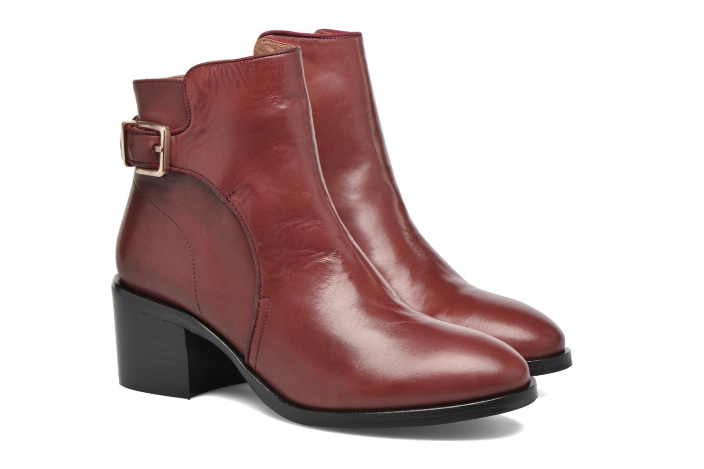 Bottines et boots Made by SARENZA See Ya Topanga #3 Bordeaux vue derrière