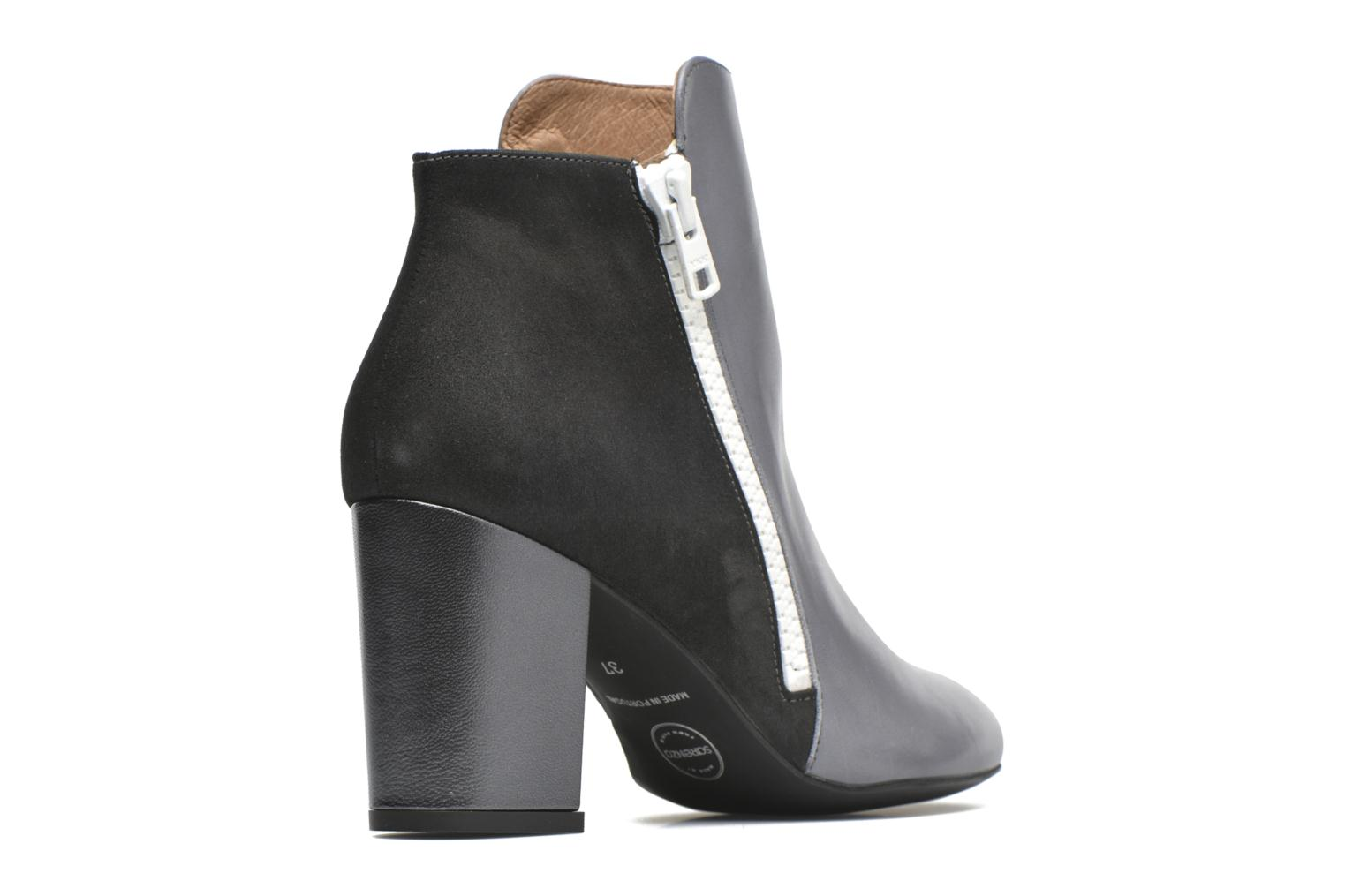 Ankle boots Made by SARENZA Winter Ski #1 Grey front view