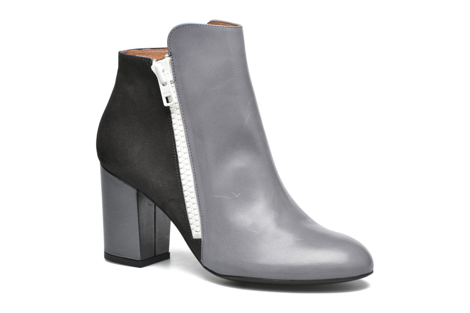Ankle boots Made by SARENZA Winter Ski #1 Grey view from the right
