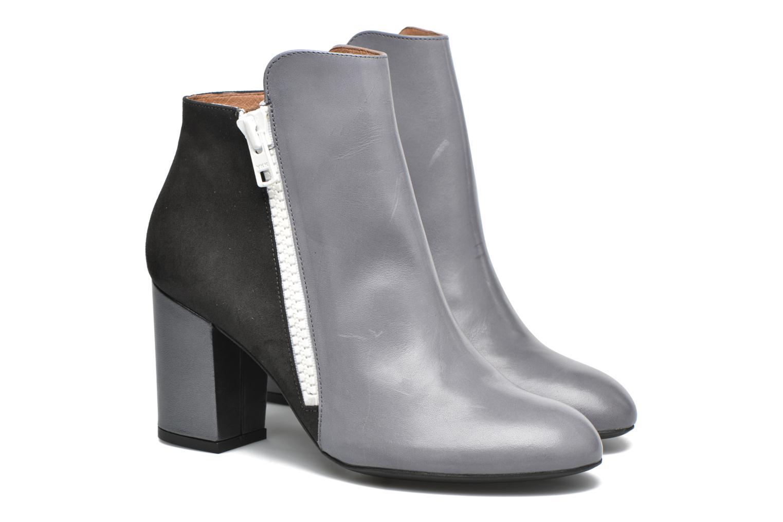 Stiefeletten & Boots Made by SARENZA Winter Ski #1 grau ansicht von hinten