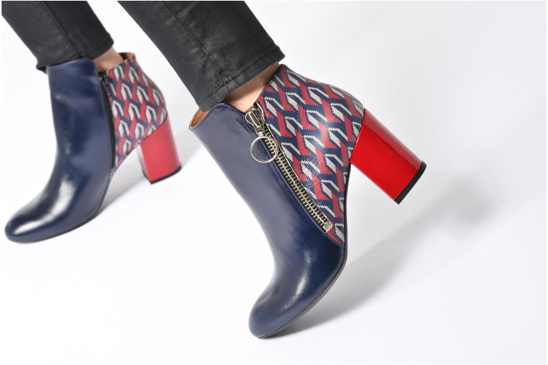 Stiefeletten & Boots Made by SARENZA Winter Ski #1 schwarz ansicht von unten / tasche getragen