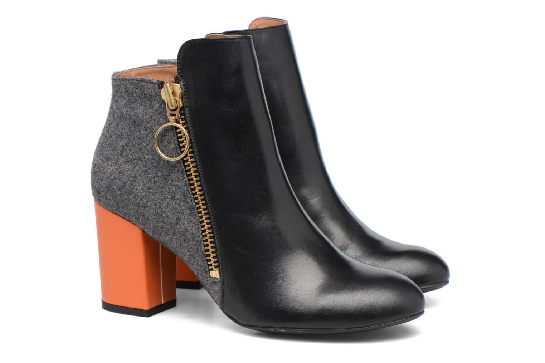 Stiefeletten & Boots Made by SARENZA Winter Ski #1 schwarz ansicht von hinten