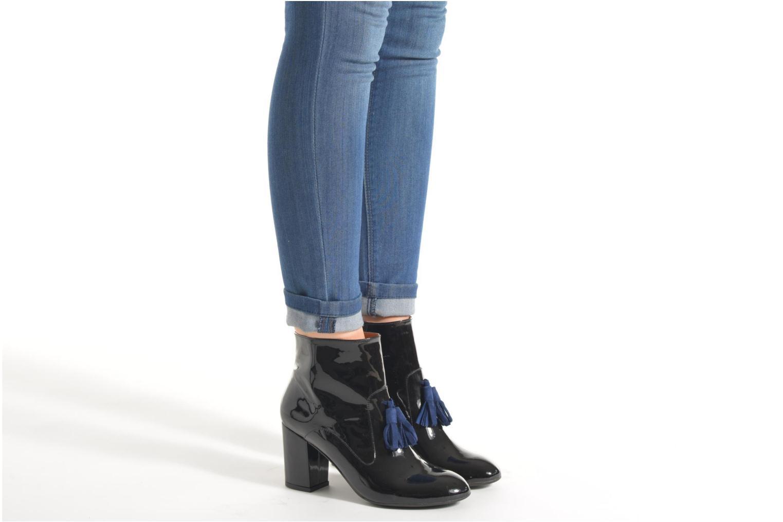 Stiefeletten & Boots Made by SARENZA Winter Freak #5 weinrot ansicht von unten / tasche getragen