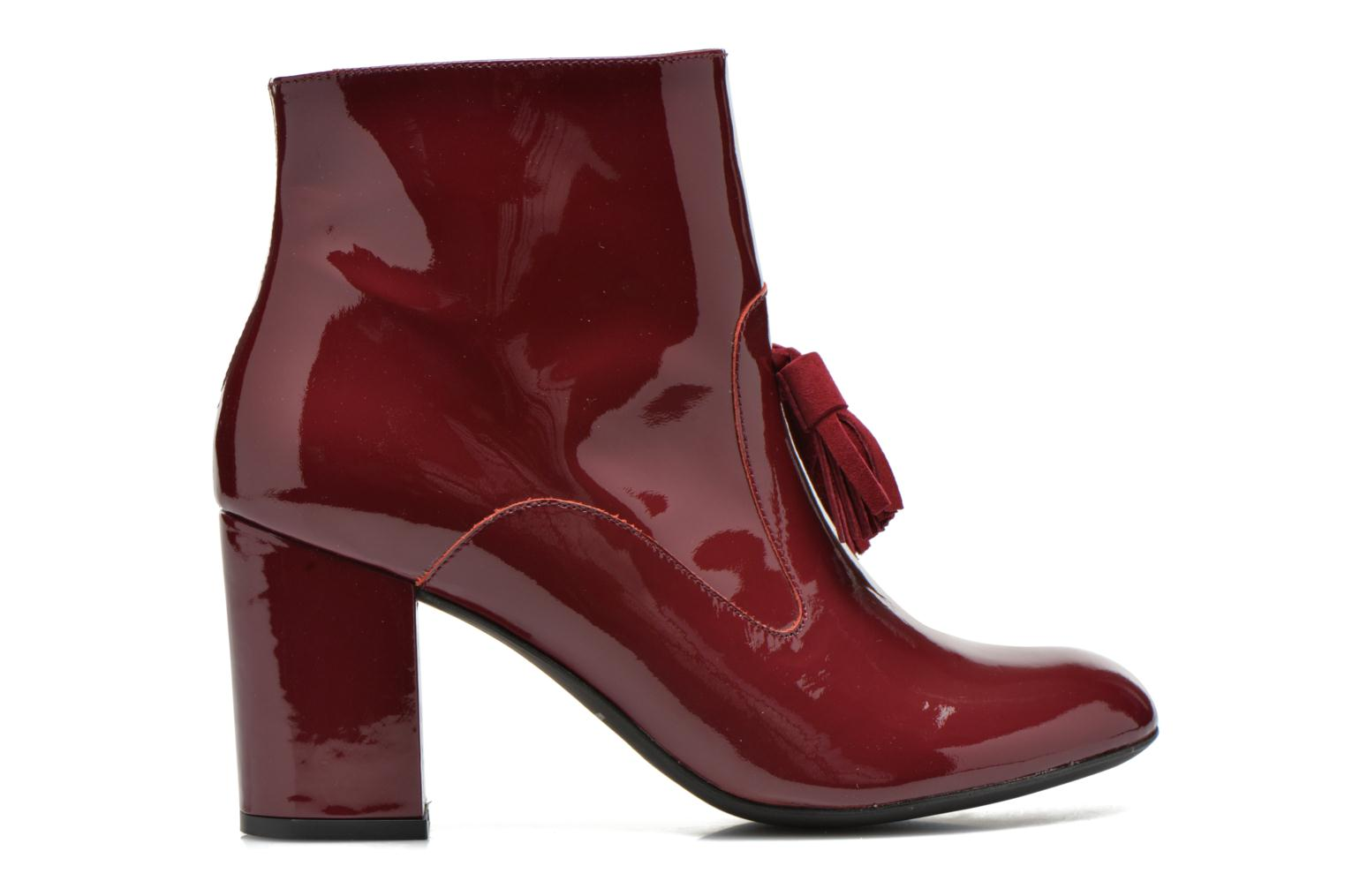 Ankle boots Made by SARENZA Winter Freak #5 Burgundy detailed view/ Pair view