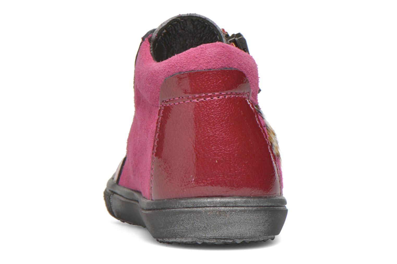 Bottines et boots Bopy Besprit Rose vue droite